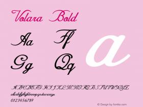 Volara-Bold Version 1.000图片样张