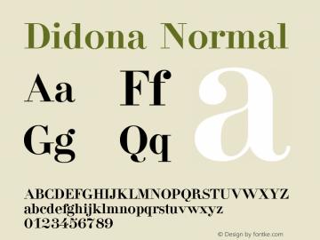 Didona Normal 1.0 Thu Nov 18 18:22:27 1993图片样张