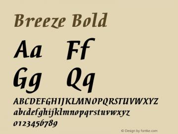 Breeze Bold 001.001图片样张