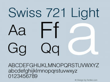 Swiss 721 Light Version 003.001图片样张