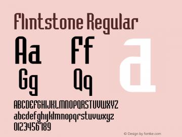 Flintstone Macromedia Fontographer 4.1 2/17/98图片样张
