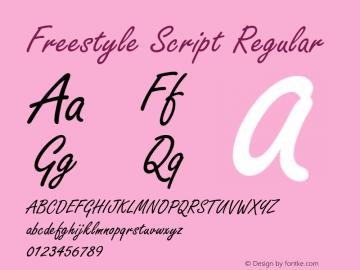 Freestyle Script Version 1.05图片样张