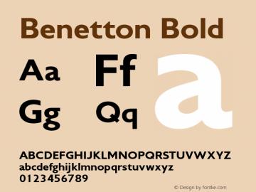 Benetton-Heavy Version 1.000图片样张