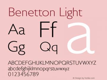 Benetton-Light Version 1.000图片样张
