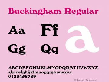 Buckingham Rev. 002.001图片样张
