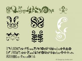 Fleurons-4 Version 1.000;PS 001.000;hotconv 1.0.38图片样张