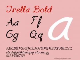 TrellaBold Version 1.000图片样张