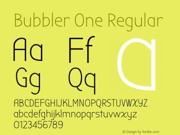 Bubbler One Version 1.001图片样张