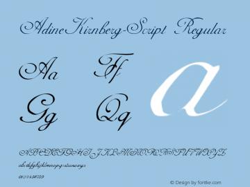 AdineKirnberg-Script Altsys Metamorphosis:12/10/93图片样张