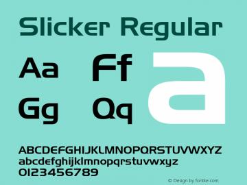 Slicker Altsys Fontographer 3.5  7/17/96图片样张