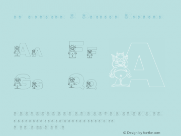 pf_monster-2 Outline 2001; 1.0, initial release图片样张