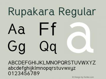 Rupakara Version 1.002图片样张