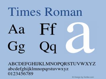 Times-Roman 002.000图片样张
