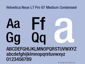 HelveticaNeueLTPro-MdCn Version 1.500;PS 001.005;hotconv 1.0.38图片样张