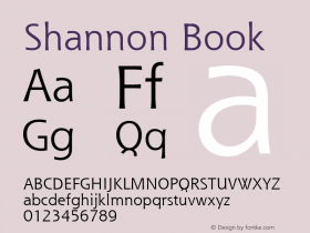 Shannon Book Version 1.0图片样张