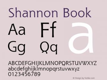 Shannon Book Version 1.0图片样张