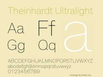 Theinhardt-Ultralight Version 3.001图片样张