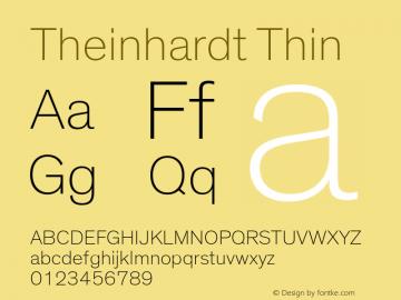 Theinhardt-Thin Version 3.001图片样张