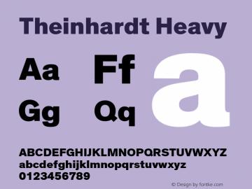 Theinhardt-Heavy Version 3.001图片样张