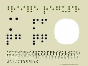 braille Regular 1.0图片样张