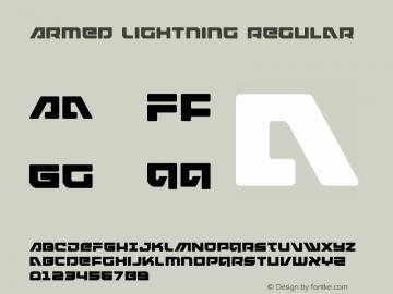 Armed Lightning Version 1.0; 2017图片样张