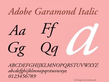 AGaramond-Italic 001.003图片样张