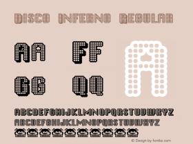 Disco Inferno Macromedia Fontographer 4.1.3 3/17/02图片样张