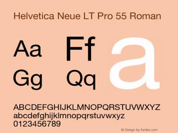 HelveticaNeueLTPro-Roman Version 1.000;PS 001.000;hotconv 1.0.38图片样张