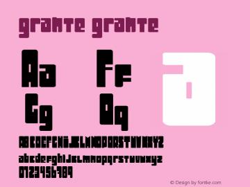 grante Version 002.000图片样张
