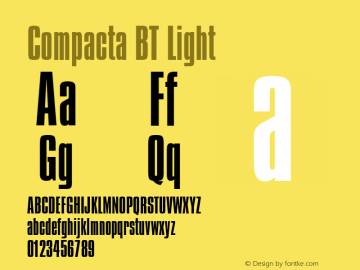Compacta Light BT spoyal2tt v1.34图片样张