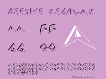 Beehive Macromedia Fontographer 4.1 6/6/96图片样张