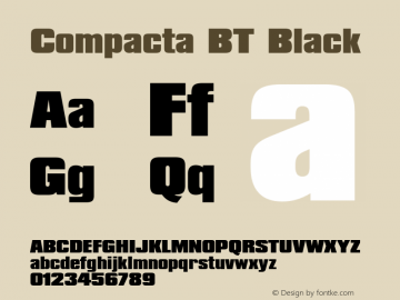 Compacta Black BT spoyal2tt v1.34图片样张