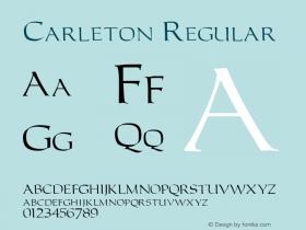 Carleton Macromedia Fontographer 4.1 6/6/96图片样张