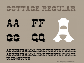 Cottage Macromedia Fontographer 4.1 6/6/96图片样张