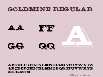 GoldMine Macromedia Fontographer 4.1 6/6/96图片样张