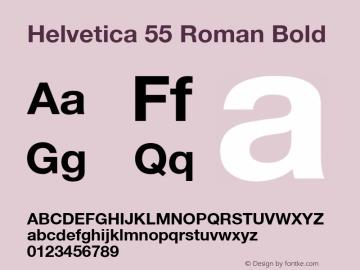 Helvetica 75 Bold Converter: Windows Type 1 Installer V1.0d.