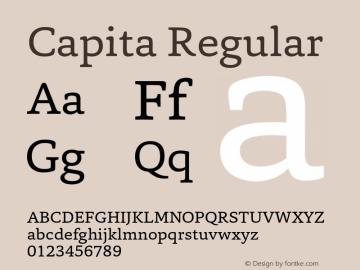 Capita-Regular 1.000图片样张