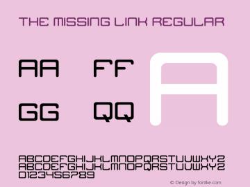 The Missing Link Regular Version 1.0图片样张