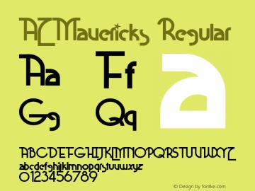 AZMavericks-Regular 0.000图片样张
