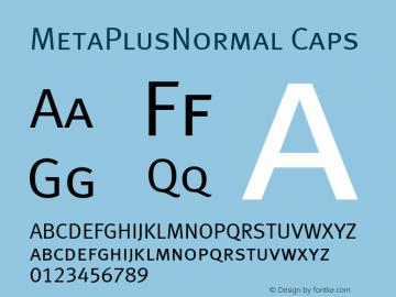 MetaPlusNormal Caps Altsys Fontographer 4.0.3 07-05-2003图片样张