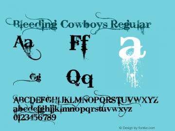 Bleeding Cowboys Version 1.00 June 28, 2007, initial release图片样张