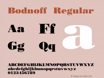 Bodnoff 001.003图片样张