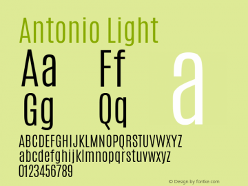 Antonio Light 图片样张