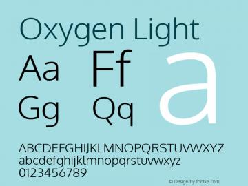 Oxygen Light 图片样张