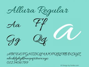 Allura Regular 图片样张