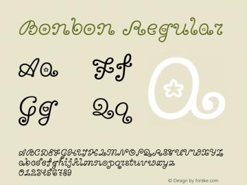 Bonbon Regular 图片样张