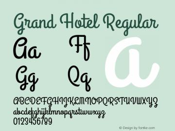 GrandHotel Version 1.0图片样张