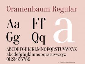 Oranienbaum Version 1.0图片样张