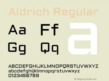 Aldrich Version 1.0图片样张