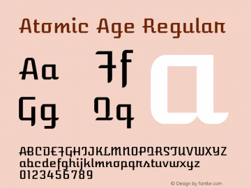 AtomicAge Version 1.0图片样张